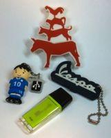 USB-Sticks: Für die Cybersicherheit nicht lustig. Bild: pixelio.de, Harald Wanetschka
