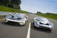 Der Ford GT-Supersportwagen geht 2022 in sein letztes Produktionsjahr. Bild: Ford Motor Company Fotograf: Ford