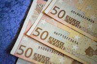 Geld Euros Währung