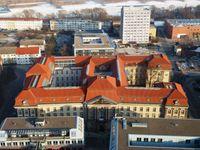 Gesamtansicht der Viadrina vom Oderturm aus (2012)