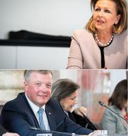 Patrizia Zoller-Frischauf und Bernhard Tilg