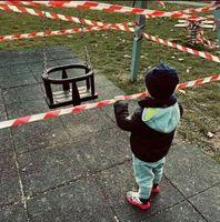 Kinder werden weltweit von Staat und Eltern mißhandelt aus Angst vor einem natürlichen Virus (Symbolbild)