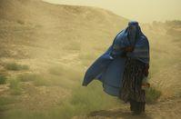 Burkaträgerin in Afghanistan