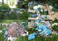 Entsorgter Müll, Bild: PP Mannheim