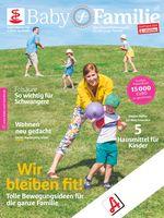"""Baby und Familie-Titelcover, Ausgabe Juni 2020.  Bild: """"obs/Wort & Bild Verlag - Gesundheitsmeldungen"""""""