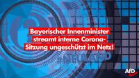 Staatsgeheimnisse offen im Netz? Höchste bayerische Regierungsmitglieder besprechen sich in ungeschützten Videokonferenzen!
