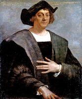 Christoph Kolumbus, Porträt von Sebastiano del Piombo, aus den Jahren 1529-1530
