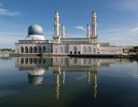 Moschee in Kota Kinabalu (Sabah) in Malaysia