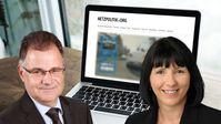 Jürgen Braun, parlamentarischer Geschäftsführer, und Joana Cotar, digitalpolitische Sprecherin der AfD-Bundestagsfraktion (2019)