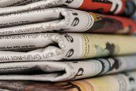 Zeitungen: Medien in der Kritik.