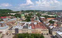 Lemberg : Blick über die Stadt