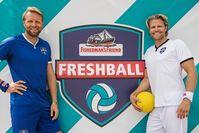 "Baggeralarm beim Fisherman´s Friend Freshball: Paul Janke holt sich den Titel. Bild: ""obs/CFP Brands Süßwarenhandels GmbH & Co. KG/Matthias Hornung"""