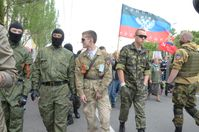 Ukraine: Insurgents in Donetsk