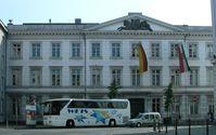 Regierungsgebäude des teilsouveränen Landes Nordrhein-Westphalen in Köln am Stadttheater
