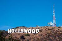 """In den Hollywood Hills prangt mit 14 Meter hohen Lettern das Hollywood Schild Bild: """"obs/ZDFinfo/mcphoto / vario images"""""""