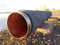 Teilstück der Nord Stream Pipeline