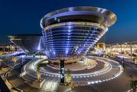DUBAI, MARCH 07 2021: General view of Alif - The Mobility Pavilion at Expo 2020 Dubai.  Bild: Expo 2020 Dubai Fotograf: Expo 2020 Dubai