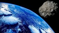 Asteroid (Symbolbild)
