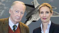 Weidel und Gauland: Angriff auf Syrien war voreilig!