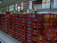 Verkauf von Coca-Cola-Produkten