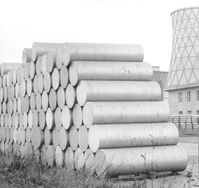 Große Aluminiumbarren