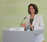 Ilse Aigner / Bild: Bundesministerin Ilse Aigner, de.wikipedia.org