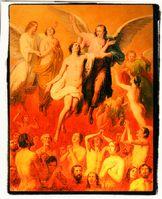 Nach der Lehre einiger weniger Menschen, muß die Menschheit schon wieder im Höllenfeuer brennen wegen Klimasünden? Eine CO2 Ablaß könnte Erlösung bringen? ;) (Symbolbild)