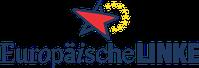 Europäische Linke (EL) oder Partei der Europäischen Linken Logo
