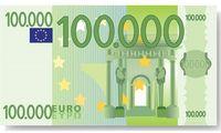 Der 100.000 Euro Schein der Zukunft? (Symbolbild)