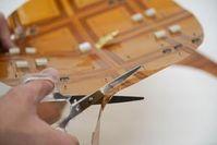 Folienladegerät lässt sich auf Maß zuschneiden.