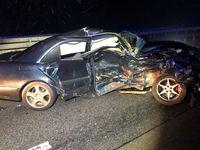 Unfallbeteiligtes Fahrzeug Bild: Polizei