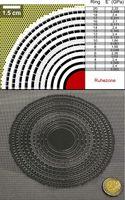 """Im """"Kreisverkehr"""" um das ruhige Zentrum: Design (oben) und Zwischenschritt der Herstellung (unten) der elastischen Tarnkappe (Grafik: AP, KIT) Quelle:  (idw)"""