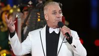 "Rammstein-Sänger Till Lindemann am 5.September 2021 beim Militär-Festival ""Spasskaja Baschnja"" in Moskau"