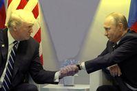 Donald Trump und Wladimir Putin (2018)