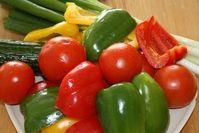 Gemüse: wirkt sich positiv auf das Herz aus (Foto: pixelio.de, BettinaF)