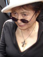 Yoko Ono in São Paulo, Brasilien. November 2007.