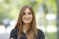 Kognitions-Psychologin Melissa Vo baut an der Goethe-Universität ein Wahrnehmungslabor auf. Quelle: Foto: Uwe Dettmar (idw)