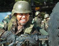 Bajonett-Training  eines US-Soldaten (Symbolbild)