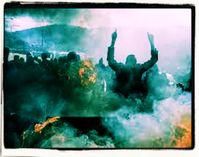 Einwanderer an der Türkisch-Griechischen Grenze versuchen mit Gewalt nach Europa zu gelangen (Symbolbild)