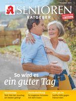 """Titelbild Senioren Ratgeber 11/2019 / Bild: """"obs/Wort & Bild Verlag - Gesundheitsmeldungen/Wort&Bild Verlag GmbH & Co. KG"""""""