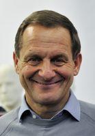 Alfons Hörmann beim Pressetermin zur Einkleidung der deutschen Olympiateilnehmer für die Olympischen Winterspiele 2014.