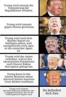 Trotz der Gegnerschaft fast aller westlicher Medien, hat Trump sich effektiv gegen den Tiefen Staat durchgesetzt (Symbolbild)