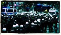 Polizeitruppen (Symbolbild)