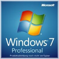 Windows 7 Professional 64 Bit OEM von Microsoft