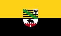 Land Sachsen-Anhalt Flagge