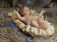 Christkind Weihnachtskrippe