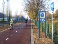 Fahrradschnellweg (Symbolbild)