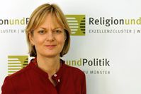 "Prof. Dr. Linda Woodhead (Foto: Exzellenzcluster ""Religion und Politik"", Martin Zaune)"