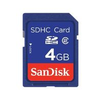 SanDisk Secure Digital High Capacity (SDHC) Speicherkarte 4GB