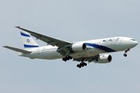 Eine El Al Israel Airlines Boeing 777-258